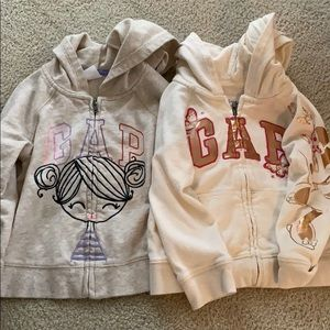 Gap Girls hoodies
